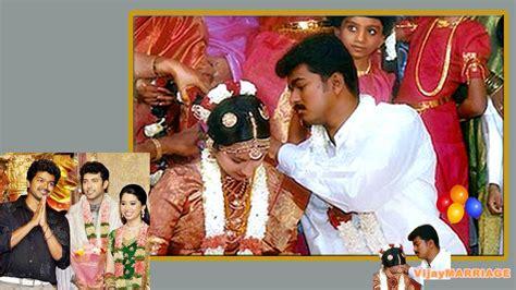 actor vijay marriage tamil film news ilayathalapathy vijay s marriage photos