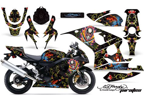 Suzuki Bike Stickers 2004 2005 Suzuki Gsx R600 R750 Bike Graphic Decal