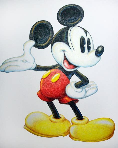 color mouse mickey mouse drawing with color opticanovosti 6f0cbe527d71