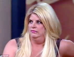 insists bloated yo yo dieter kirstie alley daily mail