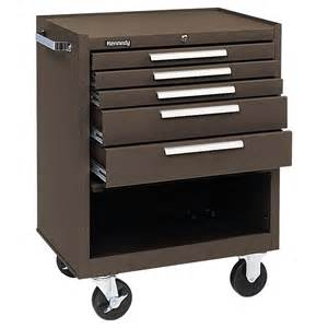 kennedy 5 drawer roller cabinet tool chests cabinets