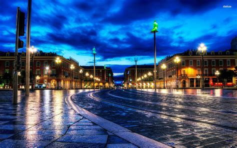 night city street wallpaper photo   Download Hd night city
