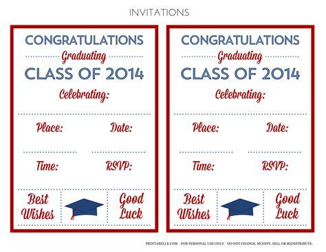 printable graduation open house invitations free printable graduation open house invitations