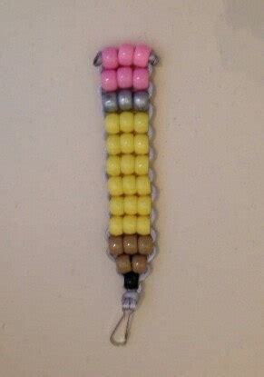 bead pets pencil bead pet keychain