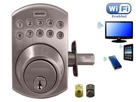 Wifi Bolt Lock keyless entry locks keypad pushbutton combination locks for buildings and vehicles