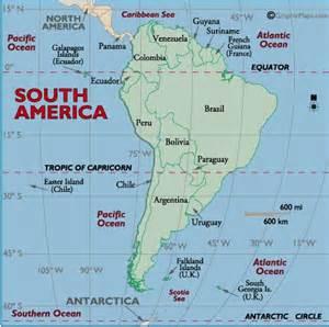 south america map cape horn south america