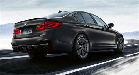 2020 Bmw M5 Edition 35 Years by 2020 Bmw M5 Edition 35 Years Has A Gold Trimmed Interior