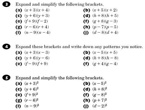 brackets maths teaching