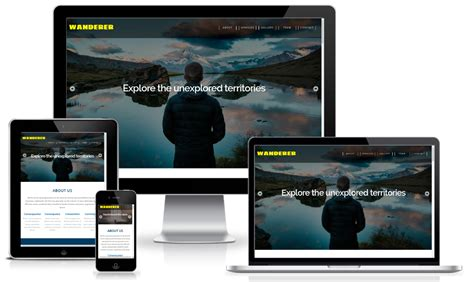 bootstrap layout w3c 100 best responsive free one page bootstrap template with