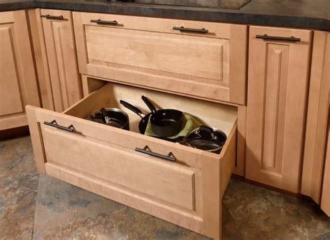 Kitchen Storage Cabinets With Drawers Pots Pans Storage Cabinet Cliqstudios Traditional Minneapolis By Cliqstudios