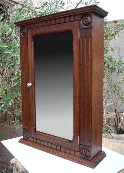 dark wood medicine cabinet with mirror rostte walnut medicine cabinet