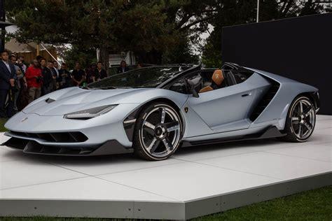 Lamborghini Cabriolet Lamborghini Centenario Roadster Officially Unveiled At