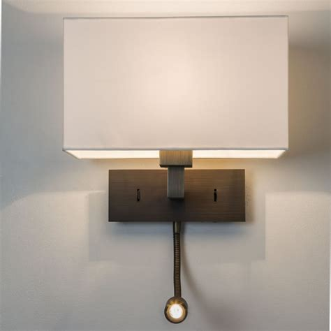 Wall Reading Lights by Astro Lighting 0540 Park Grande Bronze Led Wall