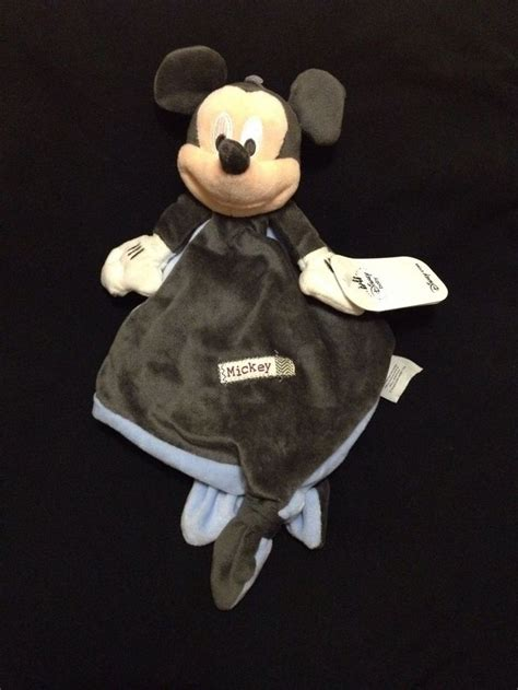 mickey mouse comfort blanket mickey mouse blue black grey comforter blanket plush