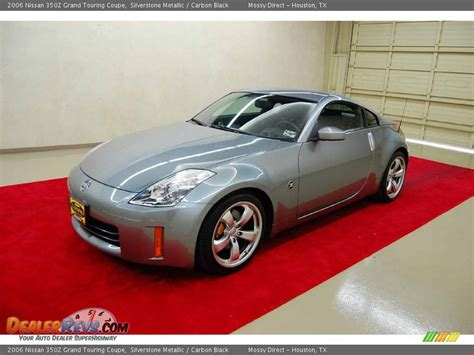 nissan coupe 2006 2006 nissan 350z grand touring coupe silverstone metallic