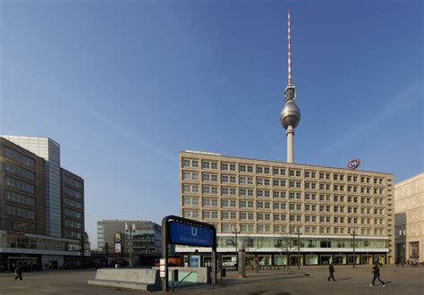behrens berlin berolinahaus at alexanderplatz by behrens metalocus