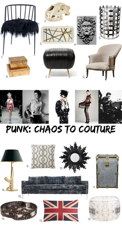 punk home decor style meets home punk from chaos to couture