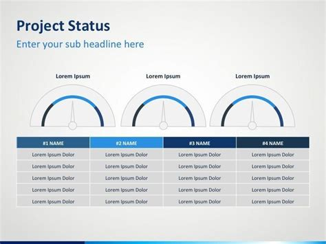 ppt templates free for project presentation project status powerpoint template powerpoint templates