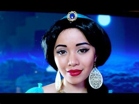 makeup tutorial jasmine princess jasmine look youtube