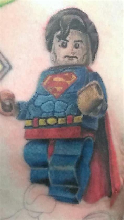 lego superman tattoos amp badass body inks