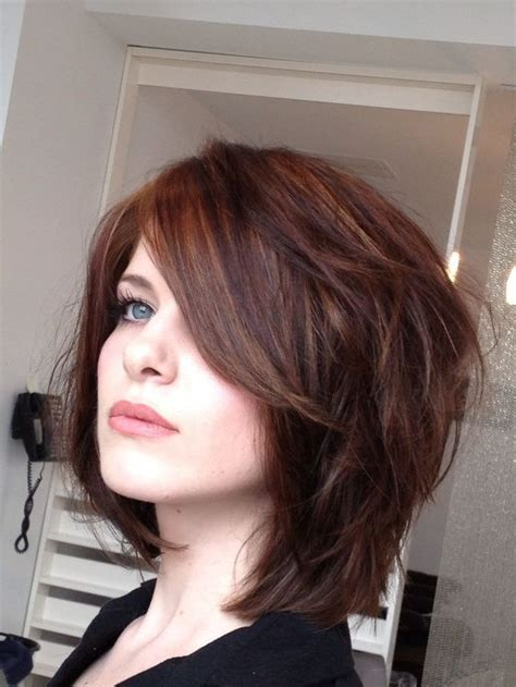 how to make bob haircut look piecy over 1000 id 233 er om cabello mediano en capas p 229 pinterest