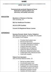 Examples Of Resumes   That Work Sample Resume Bio Nursing Best     Example Good Resume Template Resume Examples For Nursing Jobs