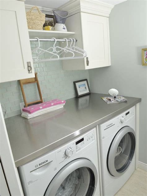 Small Laundry Room Decor Laundry Room Counter Tops Home Ideas Pinterest Washers Laundry Room Counter And Laundry
