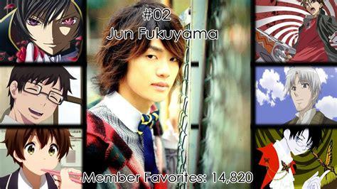 10 japanese anime voice actors you japanese level up top 10 japanese male voice actors 2014 all the time 日本の
