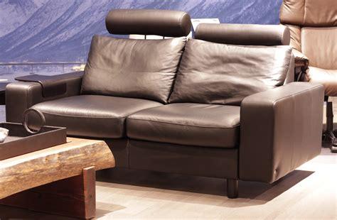 Stressless Leather Sofa Stressless E200 Loveseat Sofa In Rock Leather By Ekornes Stressless E200 Loveseat Sofa