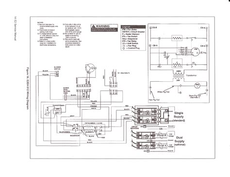 furnace blower wiring diagram thermostat blower