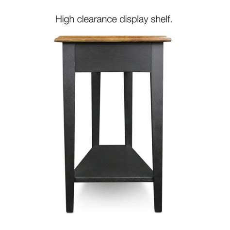 wedge tables for recliners leick furniture favorite finds recliner wedge table in