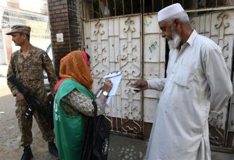 bureau de recensement le pakistan lance premier recensement en pr 232 s de vingt ans