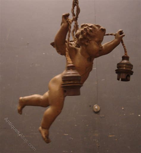 Cherub Antique by Antiques Atlas Antique Cherub Ceiling Light