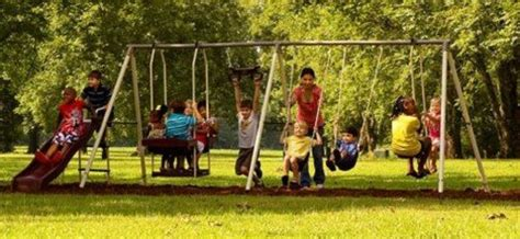 backyard swings for kids flexible flyer play park metal swing set four passenger lawn swing two passenger air