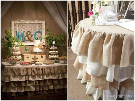 Hobby Lobby Wedding Decorations by 5 Fabulous Table Skirt Ideas For And Weddings