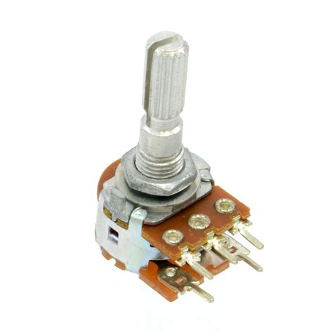 Potensio Stereo Ct 100k 10k 1 2w linear taper potentiometer w switch australia