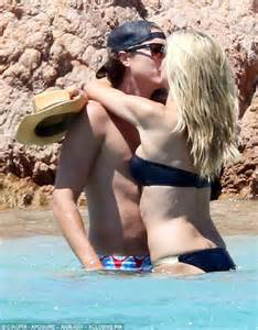 Heidi Klum Is A Handsome Fellow by Heidi Klum Displayed Affection For