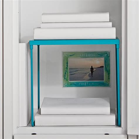 gear up teal locker shelf pbteen