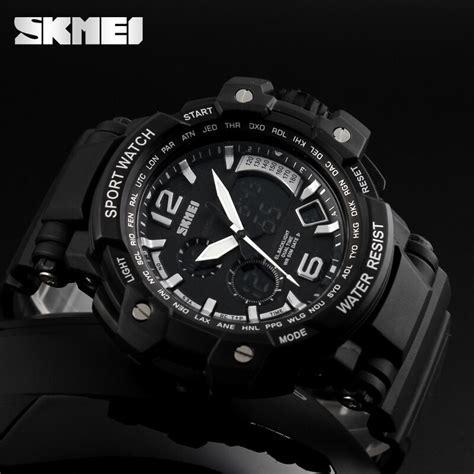 Skmei Jam Tangan Analog Digital Pria Ad1137 skmei jam tangan analog digital pria ad1137 black white jakartanotebook