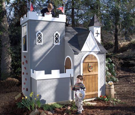 backyard castle sassafras castle playhouse traditional outdoor