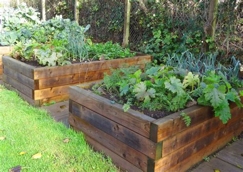 best wood for raised beds simple wood raised garden beds did it myself