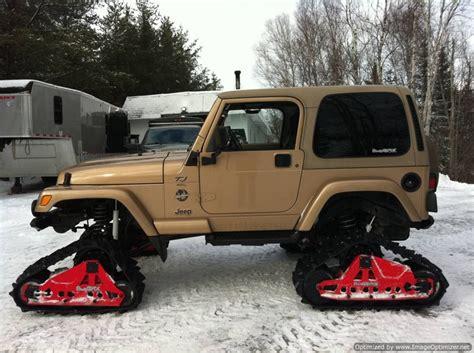 jeep snow tracks 17 best images about 4x4 snowtracks on pinterest ken