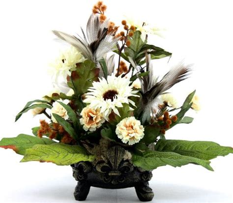 coffee table flower arrangements silk flower arrangement coffee table centerpiece home