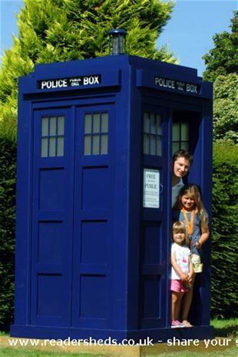 Tardis Garden Shed by Just Sheds Nope They Are Tardis Sheds Doctor Sheddies