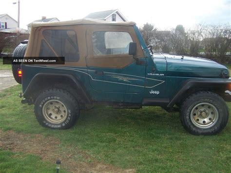 1998 Jeep Se 1998 Jeep Wrangler Se Sport Utility 2 Door 2 5l