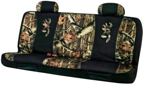 Universal Seat Covers For Trucks Browning Mossy Oak Camo Universal Seat Covers For