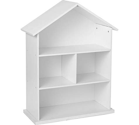 buy collection dolls house bookcase white at argos