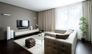 apartment interior design with minimalist and calm nuance