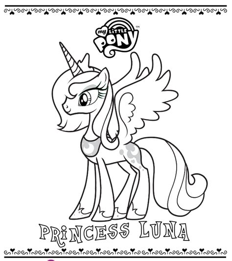 Equestria Daily Mlp Stuff 05 19 11 My Pony Coloring Pages Princess Filly Free Coloring Sheets