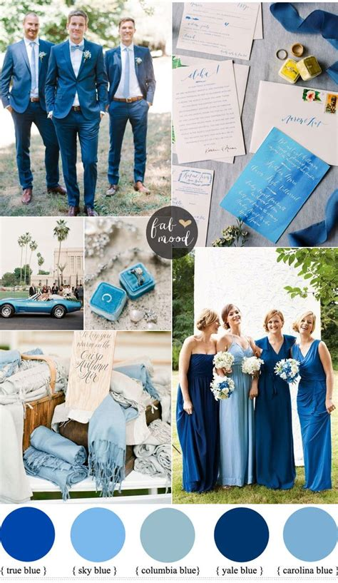 wedding colour themes blue ideas about blue wedding themes weddings also photos for